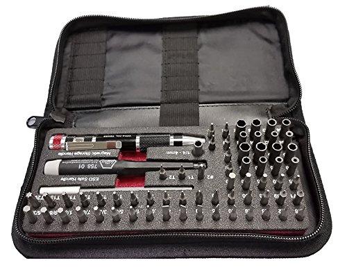 Wiha 75971 Master Tech Micro Bit 68 Piece Set In Travel - Set Piece 4 Bit