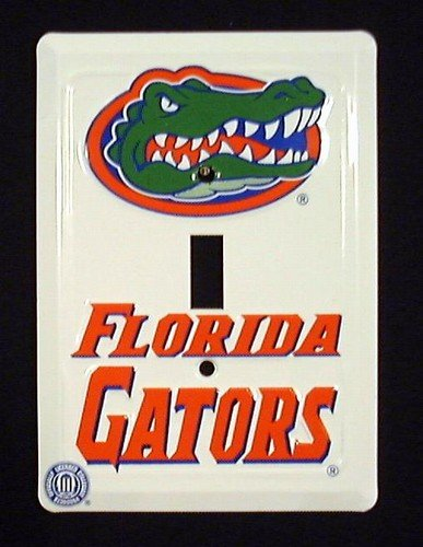 University of Florida Gators Collegiate Metal Novelty Single Light Switch Cover Plate LS10132 - University Florida Seal
