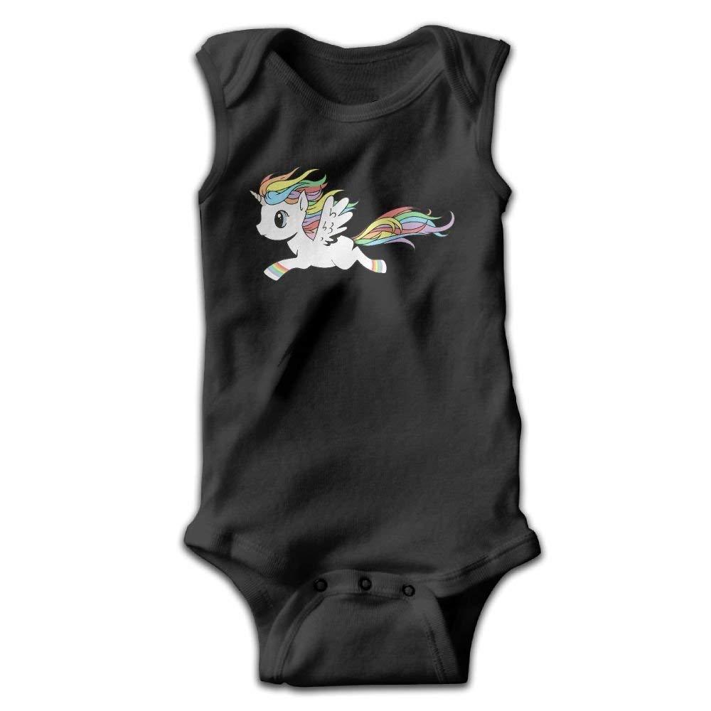 Baby Unicorn Infant Baby Sleeveless Bodysuit Romper