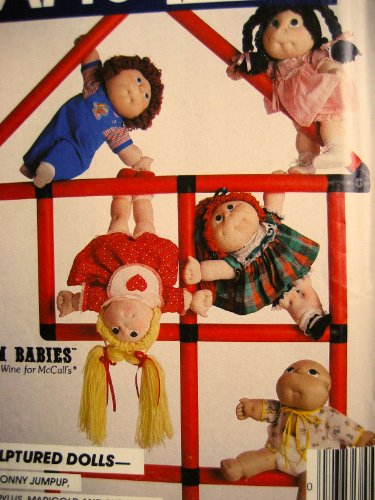 McCall's 731 Soft-Sculptured Dolls 18