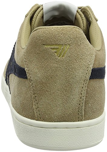 Gola Men's Equipe Suede Fashion Sneaker Cappucino/Navy cheap get to buy shopping online cheap sale Inexpensive clearance collections Su4Cb