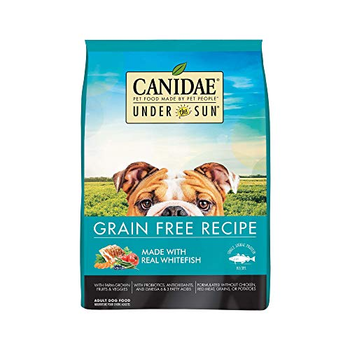 Canidae Fish Food - CANIDAE Under The Sun Grain Free Adult Dog Food With Whitefish 23.5lbs