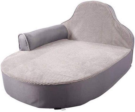 ASHDZ 犬小屋、犬のパッド、パッドを眠っている中小犬のベッド小型犬、犬のソファ/犬クールパッド/四季ユニバーサルペット用品。 (Color : Gray, Size : M)