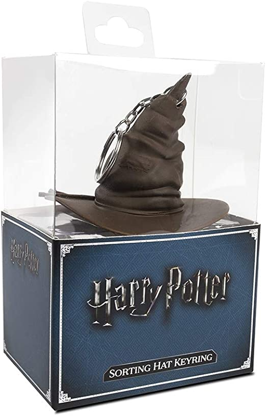 Details about  /Harry Potter Sorting Hat 3D Keychain Keyring Brass Metal