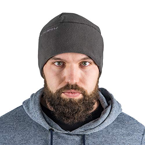 Fleece Hat Easy - Terrakuda Fleece Watch Cap Beanie – Military/Tactical Mission Ready Protection Wolf Grey