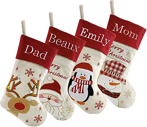Top personalized stockings set of 4