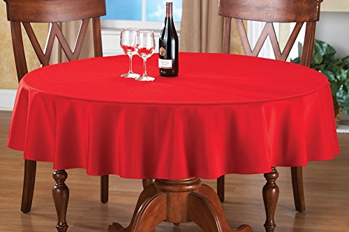 Basic Round Tablecloth Machine Washable