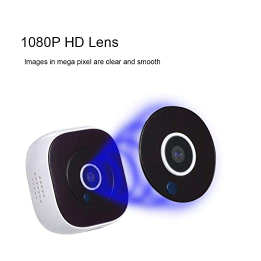 Amazon.com : Mini Camera 1080p Portable Video er IP Night Vision Wearable Micro cam with Motion Sensor Security Magnetic-Back dv/WiFi : Camera & Photo