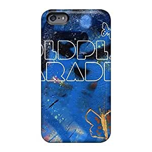 Shock Absorption Cell-phone Hard Cover For Iphone 6plus (SJL14560DyQD) Unique Design HD Coldplay Band Pictures