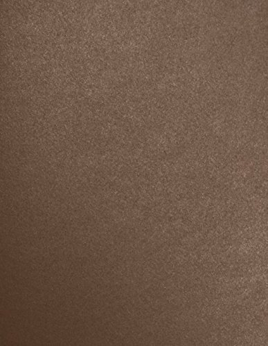 8 1/2 x 11 Paper - Bronze Metallic (50 Qty)   Perfect for Holiday crafting, invitations, scrapbooking and so much more!   81211-P-22-50 Envelopes.com