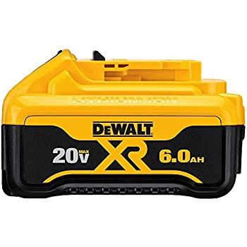 Amazon Com Dewalt Dcb406 40v 6ah Battery Pack Garden