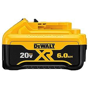 DEWALT DCB206 20V MAX 6.0Ah Lithium Ion Premium Battery