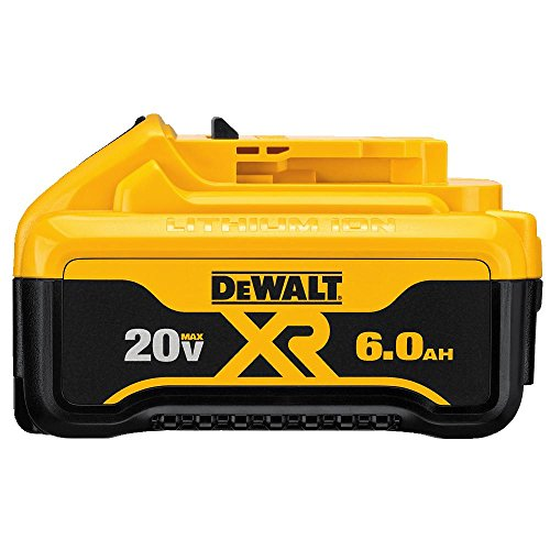 DEWALT DCB206 20V MAX 6.0Ah Lithium Ion Premium Battery by DEWALT