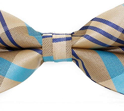 Bow Tie Bowtie SKNSM Khaki Striped Fashion Casual Tie Ball Party Men Bow Dating t880qAxw1