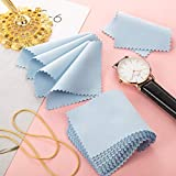 200 Pieces Jewelry Cleaning Cloth Double-Sided