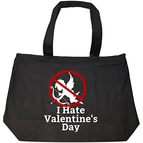I Hate Valentine Day For Single Awareness Day - Tote Bag With Zip