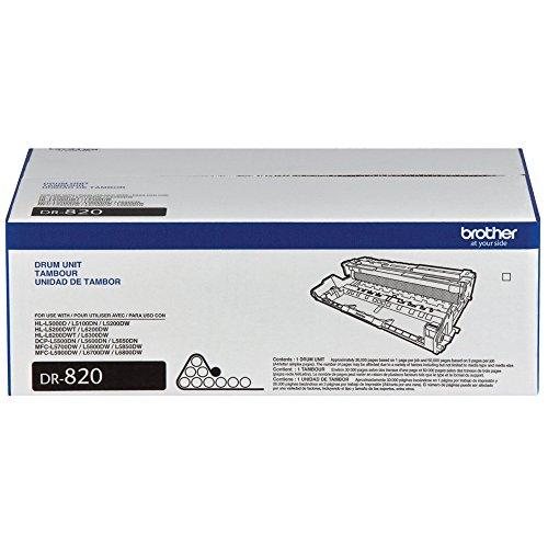 Brother Personal Laser Printer (Brother MFC-L6800DW Black Original Drum Unit (30,000 Yield))