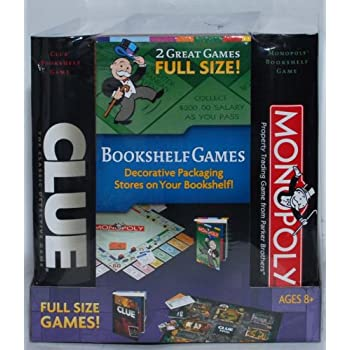 Monopoly And Clue Board Game Set