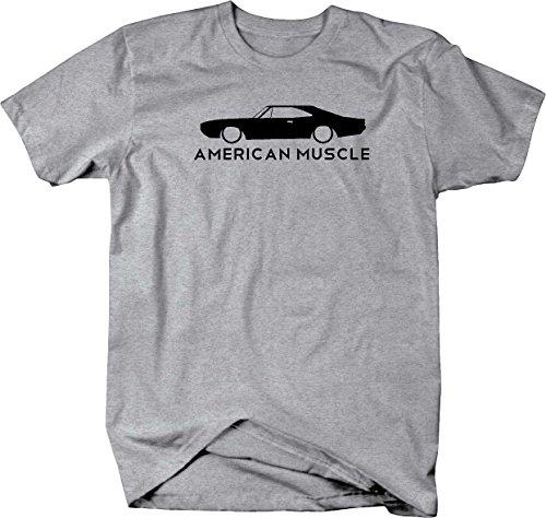 American Muscle Dodge Mopar Charger Challenger Car Hemi Mens T Shirt - 2XL