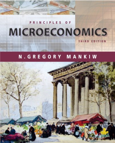 Lecture Notes for Mankiw's Principles of Microeconomics, 3rd