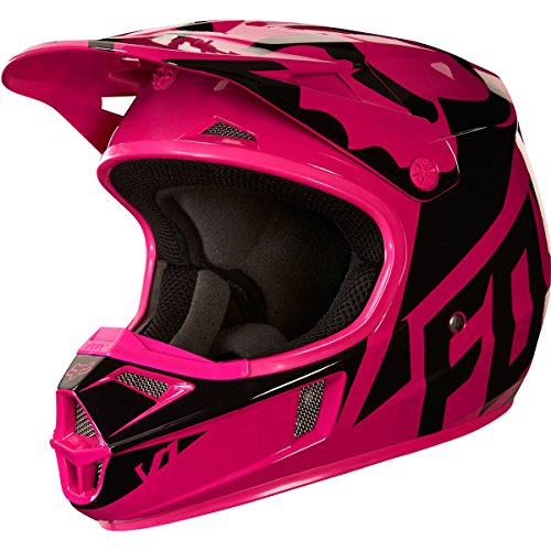 Helmet Small Race (2018 Fox Racing Youth Girls V1 Race Helmet-YS)