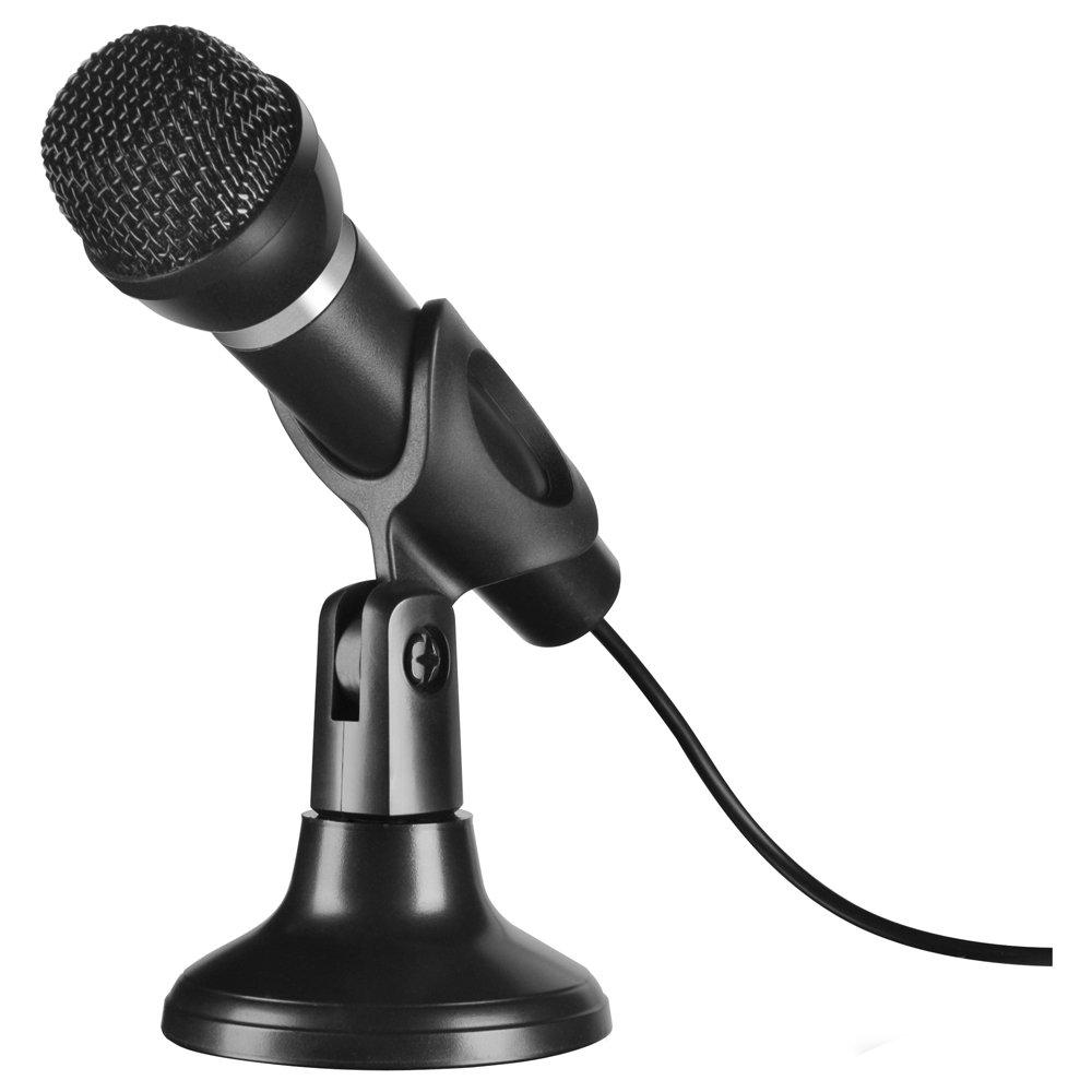 Speedlink Micrófono SL-8708-BK, negro
