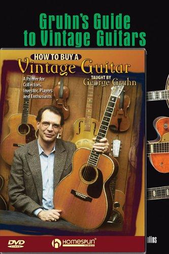 Gruhn Vintage Guitar Pack: Includes Gruhn's Guide to Vintage Guitars book and How to Buy a Vintage Guitar DVD (Gruhns Guide)