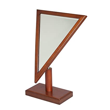 Amazon.com: Triangle wooden frame mirror -Vintage: Home & Kitchen