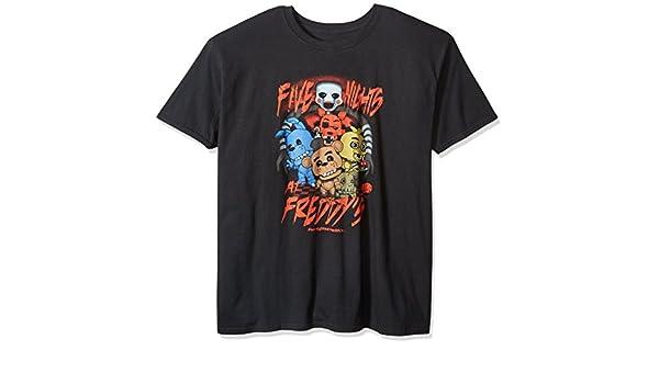 Funko POP. Camisetas de hombre: FNAF–Bonnie Lets Rock