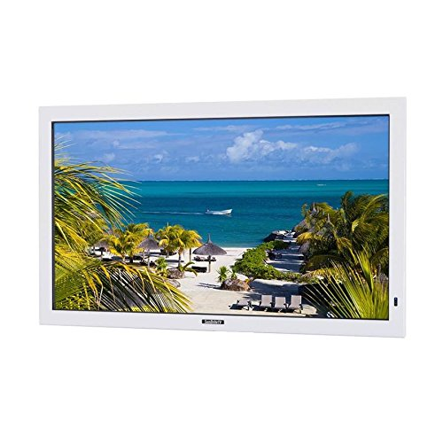 Sunbrite SB5517HDWH Pro Series 55'' Aluminum Powder Coated Outdoor LED TV With Extended Solar Tolerance (White) by SunBrite TV