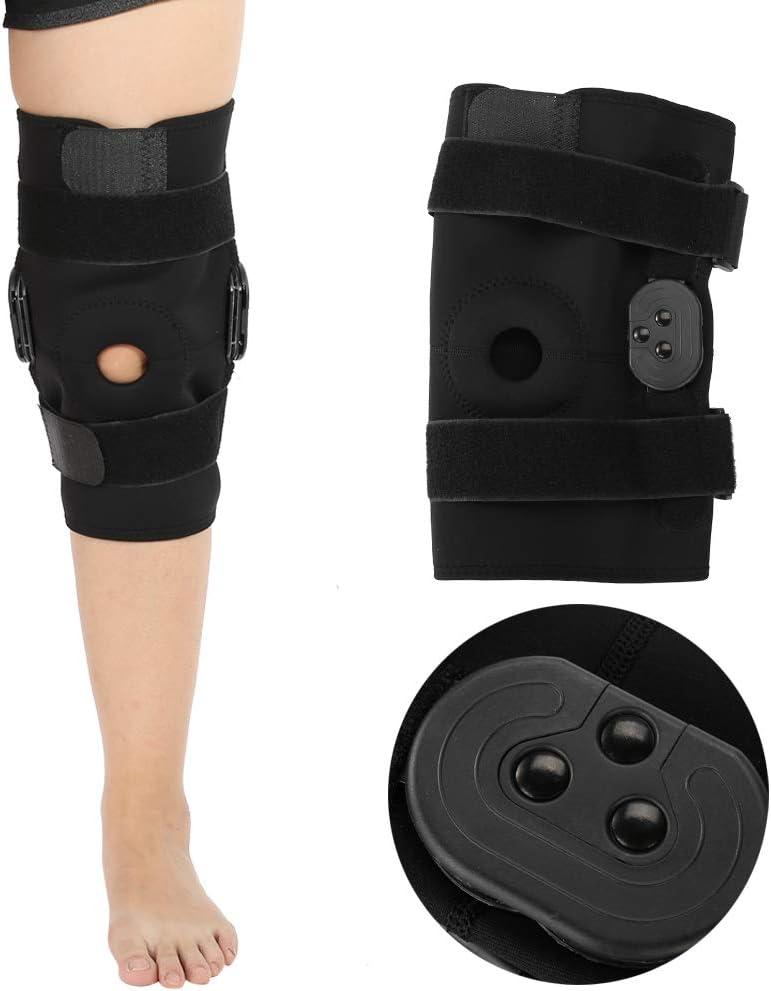 Aparatos ortopédicos para la rodilla, almohadillas para lesiones en el ligamento Ortopédica férula para la rodilla