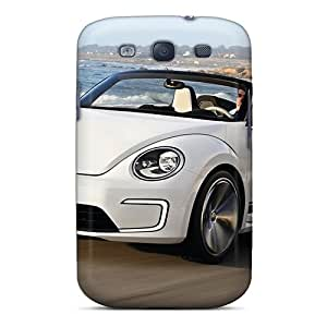 New Style Tpu S3 Protective Case Cover/ Galaxy Case - Volkswagen E Bugster Speedster Concept 2012
