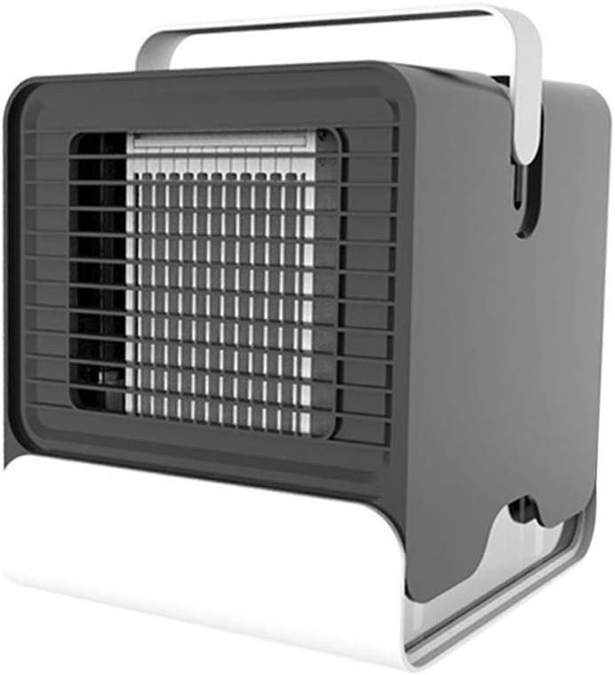 Gtest USB Mini Ventilateur Arctic Air Ultra Compact Portable air Cooler Mini climatiseur LED veilleuse Accessoires de Voiture