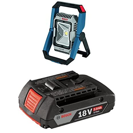 Amazon.com: Bosch gli18 V-300 N 18 V Articulado LED lámpara ...