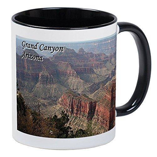 CafePress Grand Canyon, Arizona 2 (With Caption) Mug Unique Coffee Mug, Coffee Cup