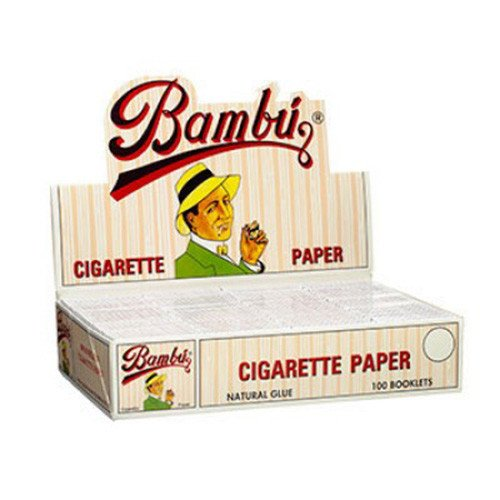 BAMBU ROLLING PAPERS 1 1/4 UNFLAVORED FLAVOR PACK OF 50 by Bambu