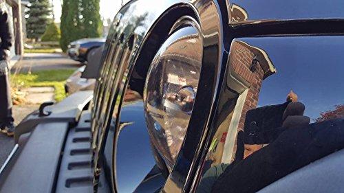 12 Inch x 24 Inch roll x2 VViViD Air-Tint Dark Black Headlight//Tail Light Window Tint
