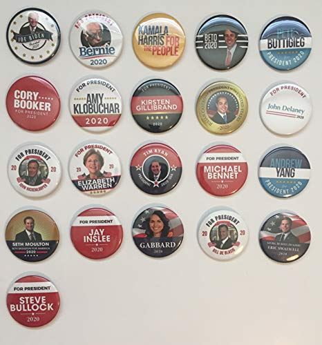 (Presidential Election Historical Center 2020 Democrat Candidates Collectors Set #2 - Set of 22-2.25 inches )