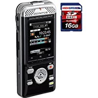 Olympus DM-901 Black Voice Recorder 4GB WIFI with Free 16GB SD Card