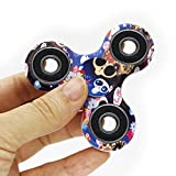PUNING Fidget Hand Spinner Toy Stress Reducer EDC Focus Toy Relieves ADHD Anxiety Time Killer (C-8Camouflage skull)