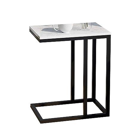 Amazon.com: Bseack - Mesa de café pequeña para sofá, mesa ...