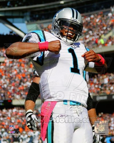 Cam Newton Carolina Panthers NFL Action Photo