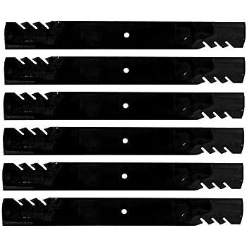 """// 396-713 1 OREGON® Gator G6 Mower Blades for Grasshopper 48/"""" Cut    396-729 2"""