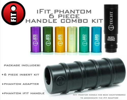 TECHT iFIT 6 pc. Kit with Phantom Adapter and Pump Handle by TechT