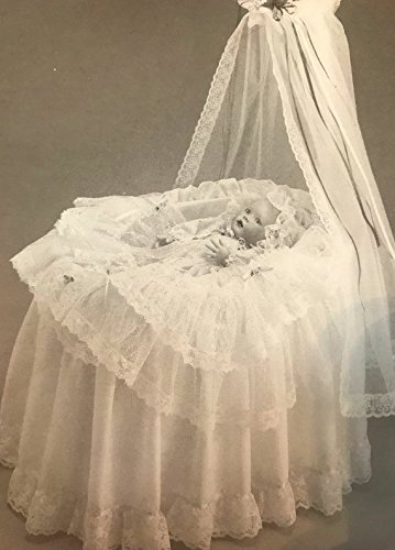 Collectable vintage Victorian Lullaby Porcelain Baby Doll from the victorian Nursery collection designed by Cindy McClure