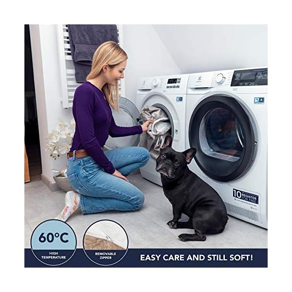 51SytwTDsQL ZENAPOKI Dog Bed - M - Orthopädisches Kissen für Hunde, gut die Gelenke - Hundebett flauschig aus Memory Schaum, Dog Bed…