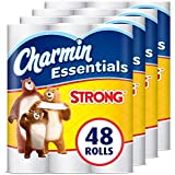 Charmin Essentials Strong Toilet Paper, 48 Giant Rolls
