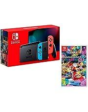 Nintendo Switch Konsole 32Gb Neon-Rot/Neon-Blau + Mario Kart 8 Deluxe