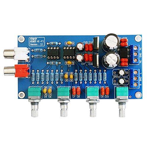 NE5532 OP-AMP HIFI Amplifier Volume Tone EQ Control Board by Jolooyo
