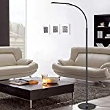 LED Reading and Crafting Floor Lamp Modern Simplicity 2000 Lumens Stepless Dimming Fully Adjustable Long Arm Touch Sensor Switch
